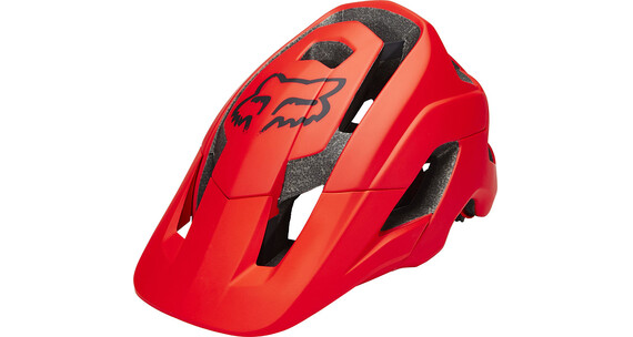 Fox Metah Solids - Casque Homme - rouge